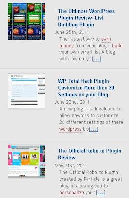 Cara Membuat Recent Post Dengan Thumbnail