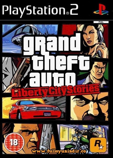 Grand Theft Auto Liberty city Stories ps 2