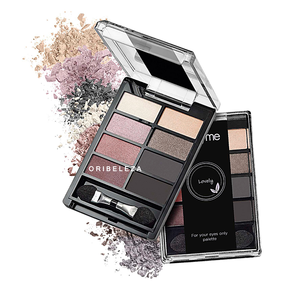 Paleta de Sombras de Olhos For your Eyes Only Very Me - Lovely