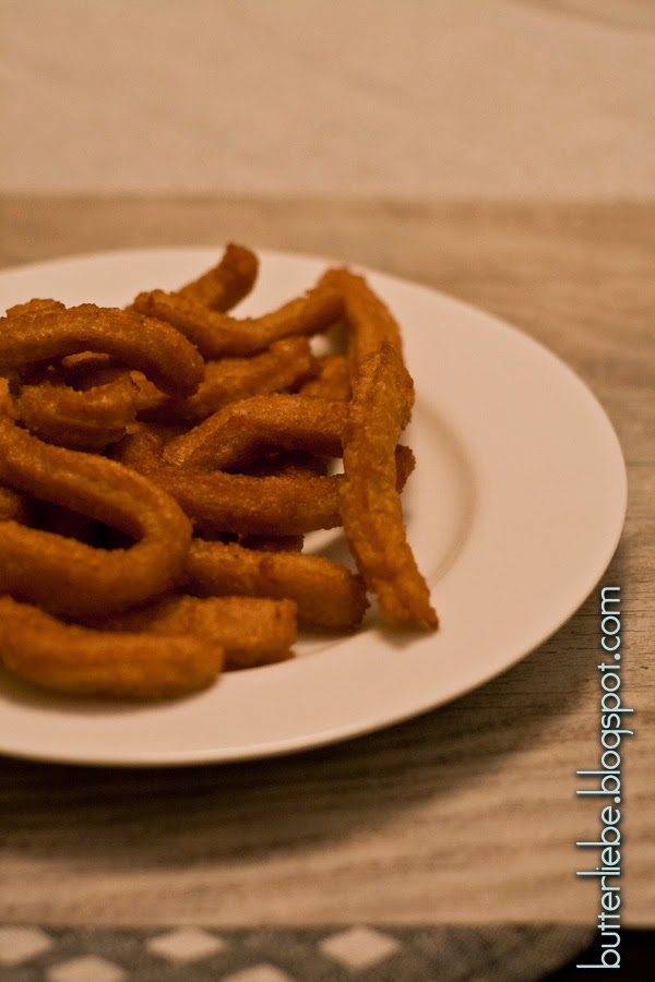 Rezept für LCHF Churros, von butterliebe.blogspot.com, Low Carb High Fat