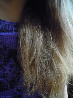 Spełnianie wakacyjnych postanowień cz.1 - Olejowanie włosów na noc
