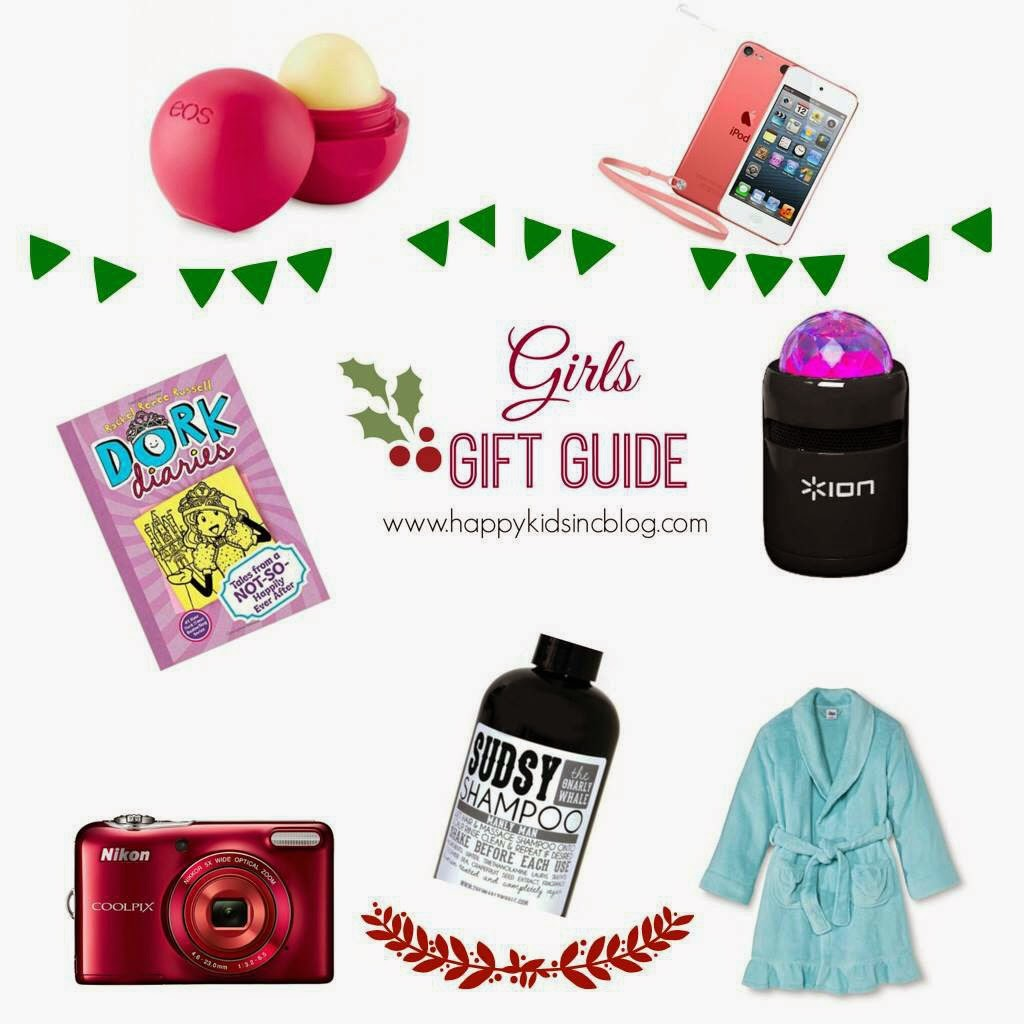 Gift Guide Girls Christmas 2014