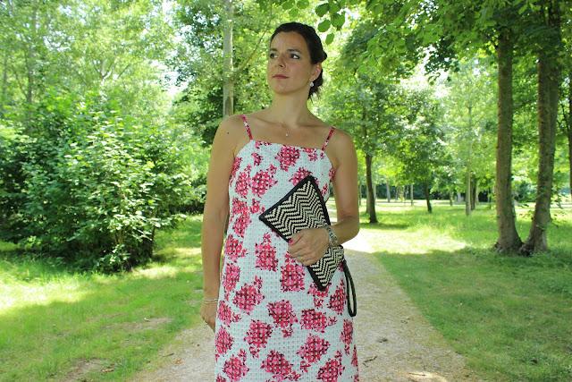 wedding look, robe comptoir des cotonniers pour les 150 ans du printemps
