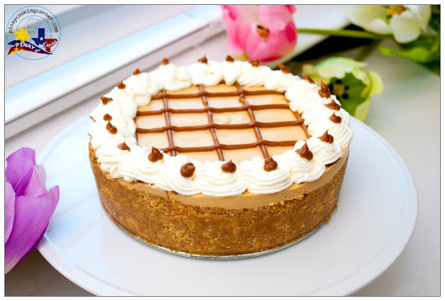 Pinay In Texas Cooking Corner: No-Bake Dulce de Leche Cheesecake