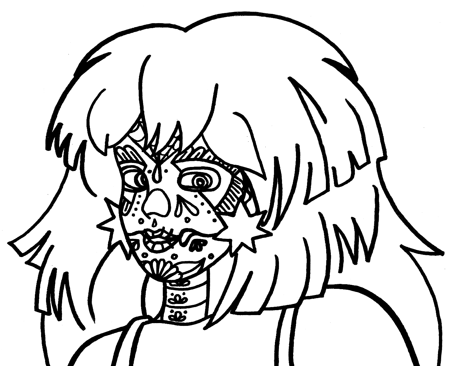Free Coloring Pages Of And The Holograms Jem Coloring Pages