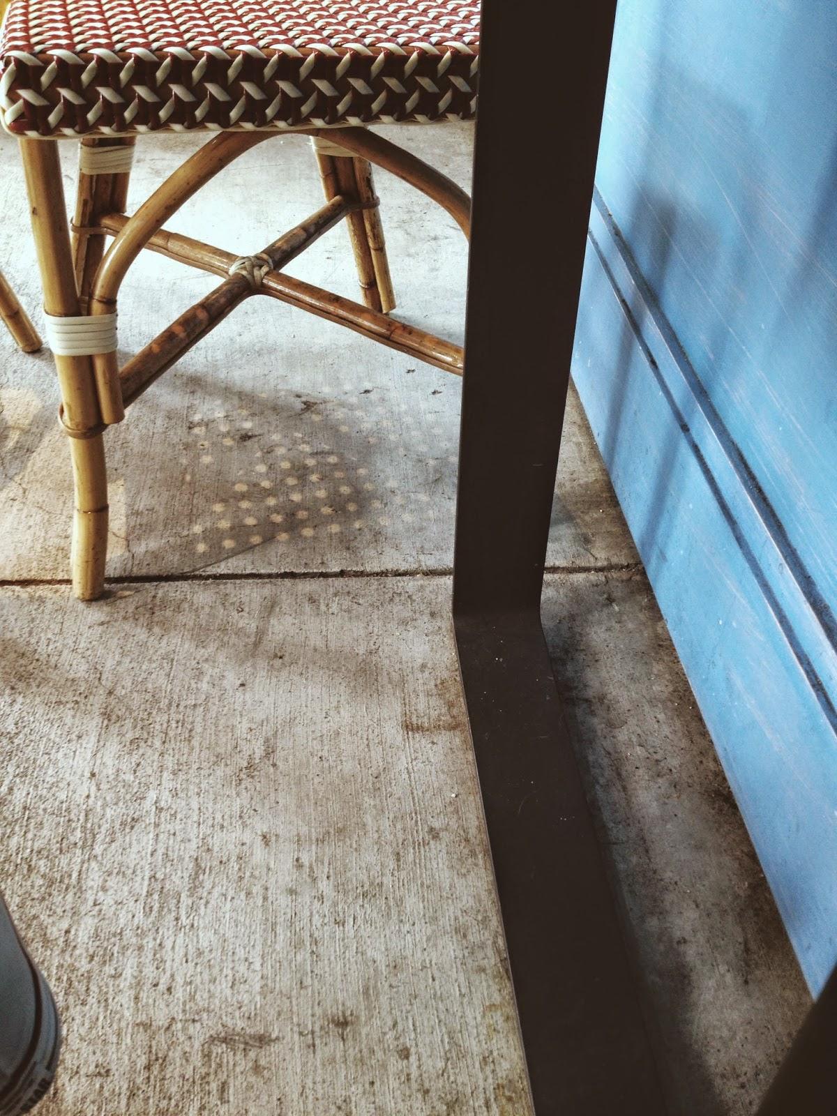floor of La Boulange