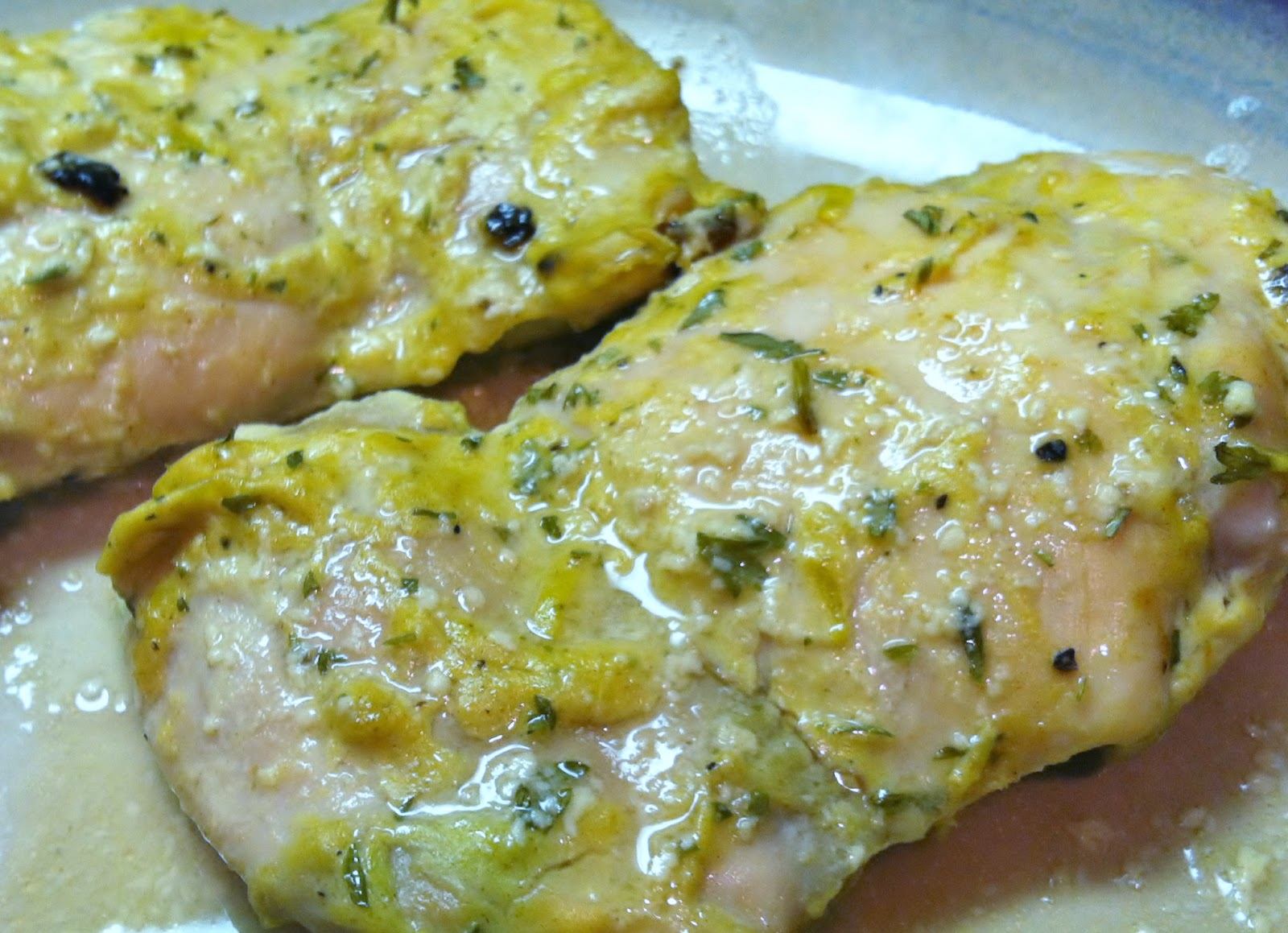 Low Carb Layla: Baked Chicken with Dijon and Lime