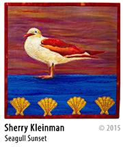Sherry Kleinman - Seagull Sunset