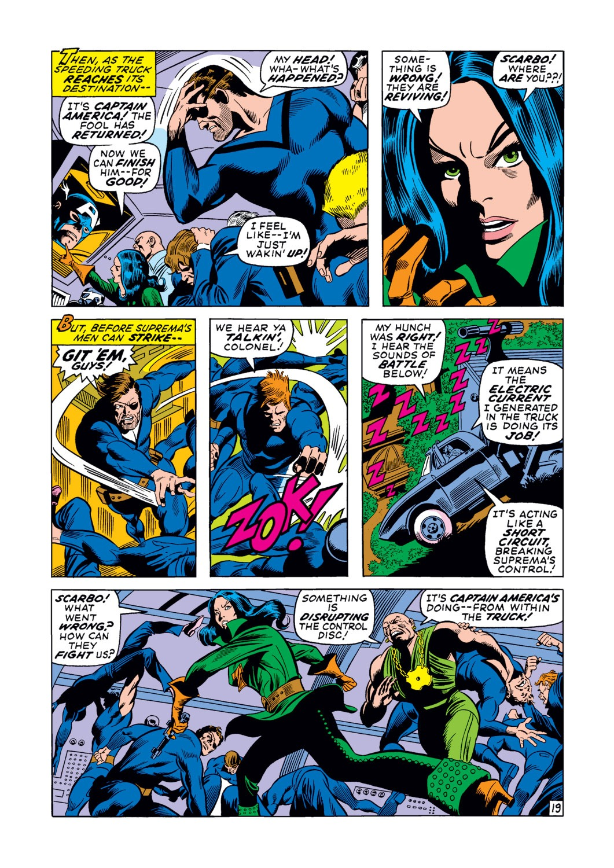 Captain America (1968) Issue #123 #37 - English 20
