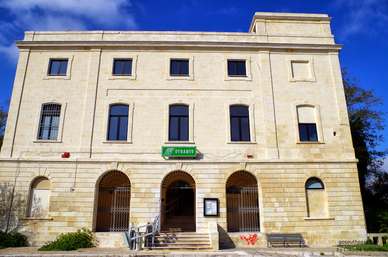 Bahnhof von Otranto (Apulien, Italien)