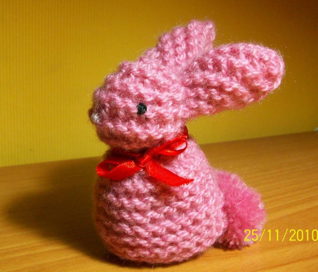 Кролик своими руками связать