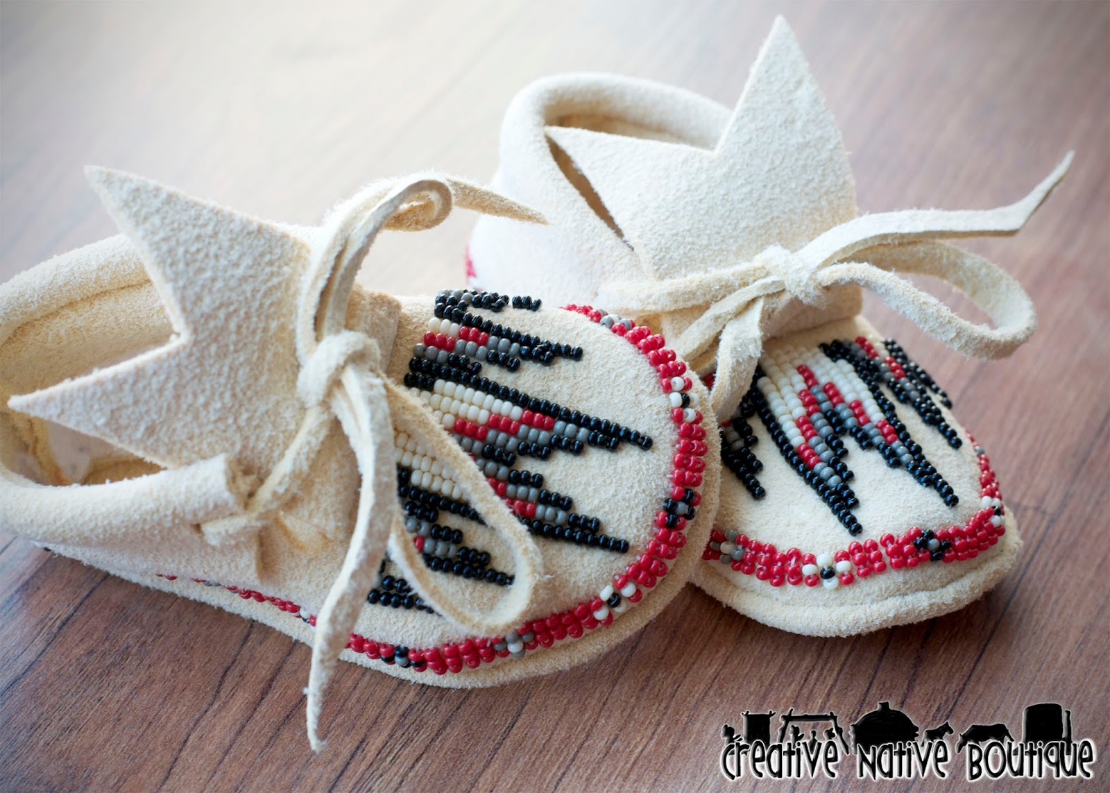 creative boutique custom baby moccasins size newborn