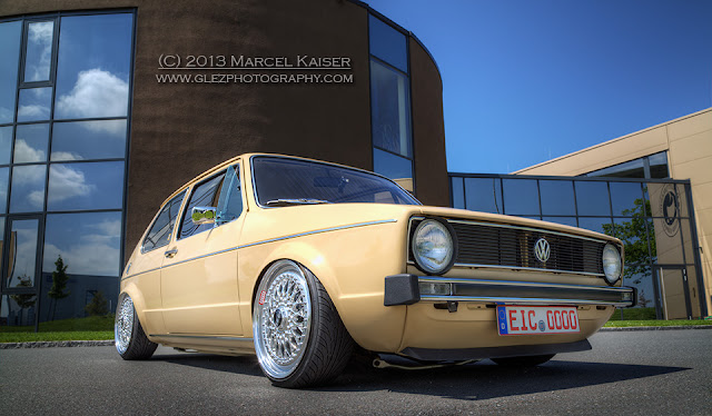 Car photography by Marcel Kaiser, VW Golf I