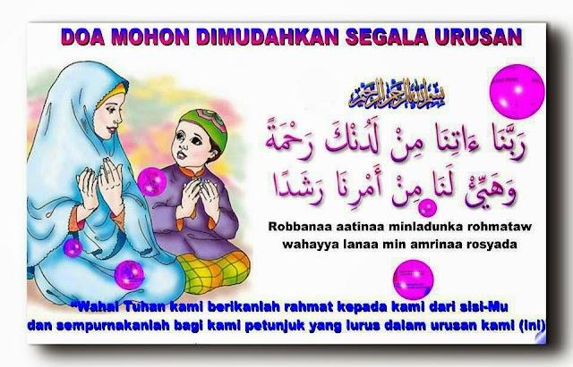 Doa Mohon Dimudahkan Urusan