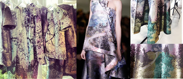 Mary Katrantzou, digital print, branches, AW13, FALL13, British designer