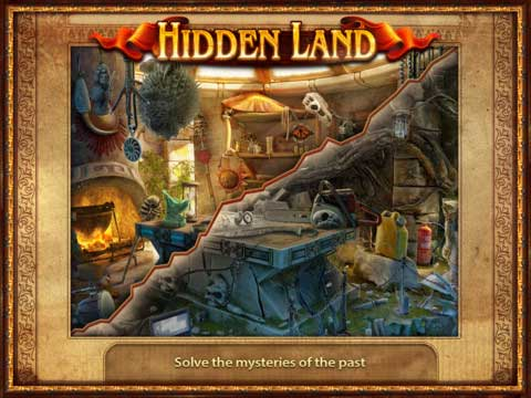 iOS Apps, iOS Games, iPad HD Games, iPad Apps, iPad Games, Mystery Games, Multi Languages Games, Download Hidden Land HD Game,