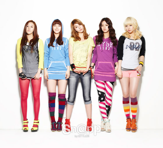 Girls Day for Sn@pp Magazine