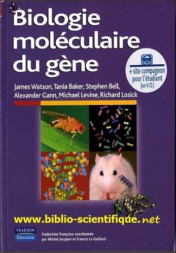 Livre : Biologie moléculaire du gène -  Pearson