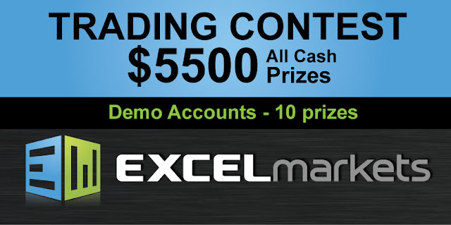 Excel Markets Trading Contest - USD5500 in Cash Prizes!