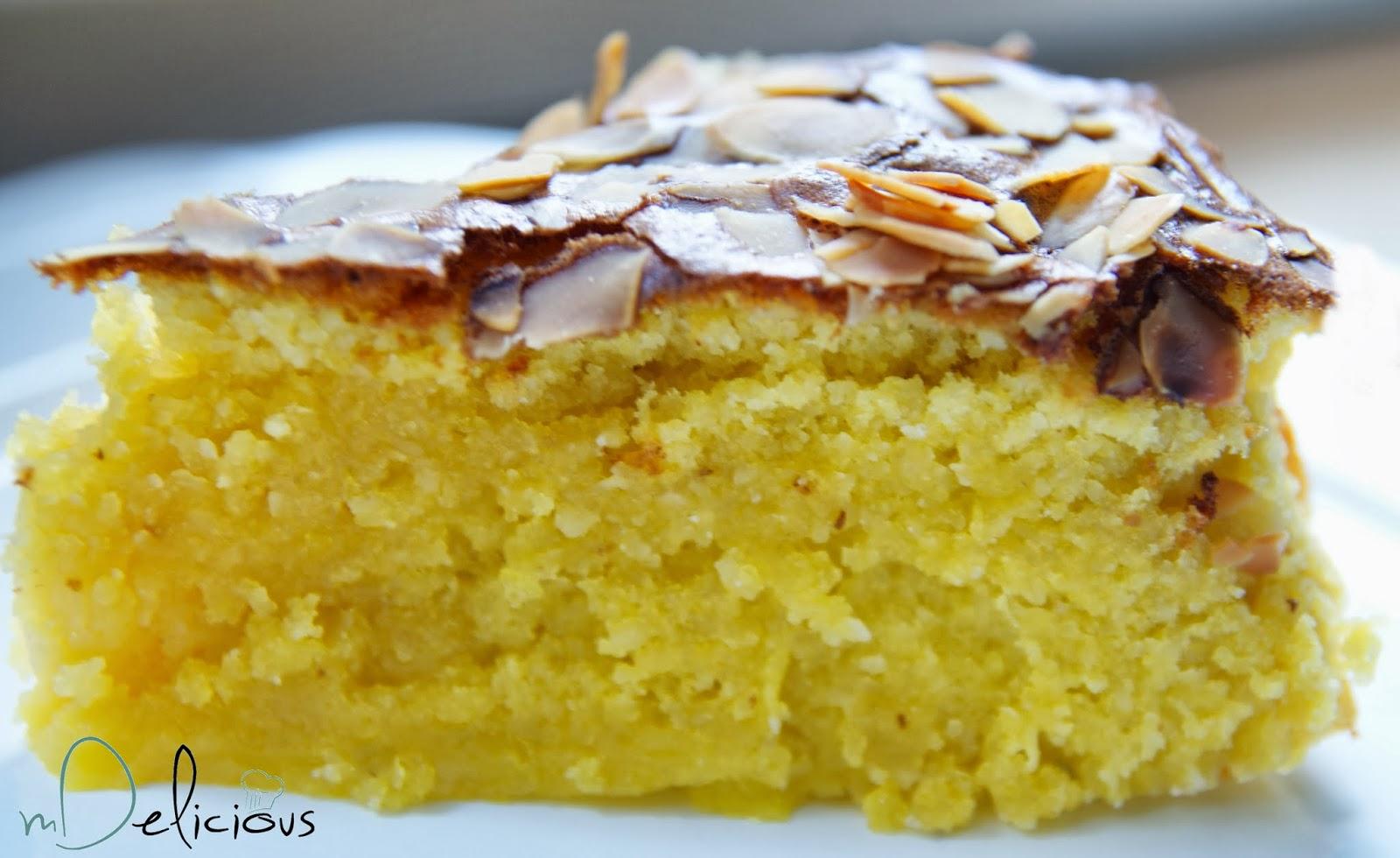 ciasto z migdałami, ciasto bezglutenowe, przepis Nigelli Lawson,