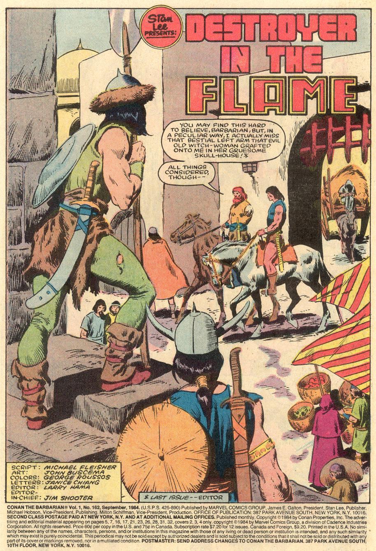 Conan the Barbarian (1970) Issue #162 #174 - English 2