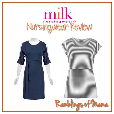 Milk Nursingwear Clothing Review #breastfeeding #nursing #exclusivepumping