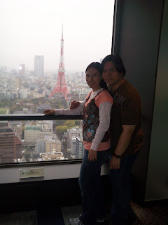 Tokyo Japan Hamamatsucho Station Tokyo Tower view