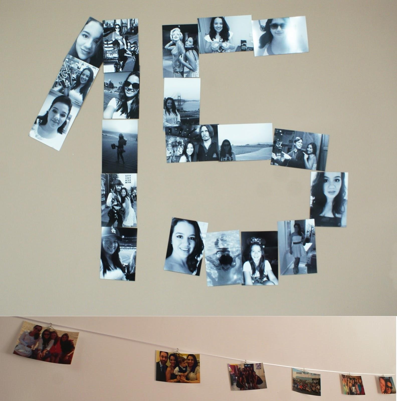 Decora o 15 anos festa em casa overdose teen - Fotos de paredes ...