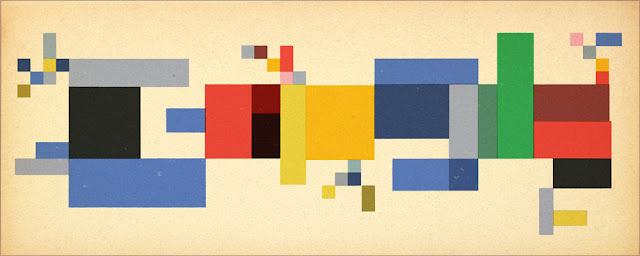 Sophie Taeuber-Arp's 127th Birthday - Google Doodle