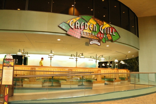 take for example the garden grill in future worlds the land pavilion not far from one of epcots biggest attractions soarin the garden grill is a - Garden Grill