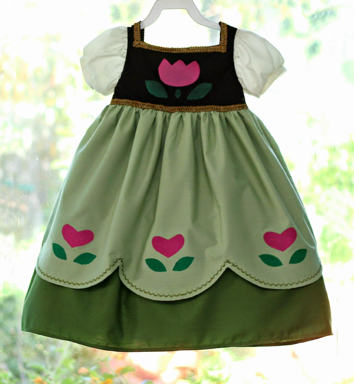 The dress from frozen - Disney Frozen S Little Anna Dress For Little Momo