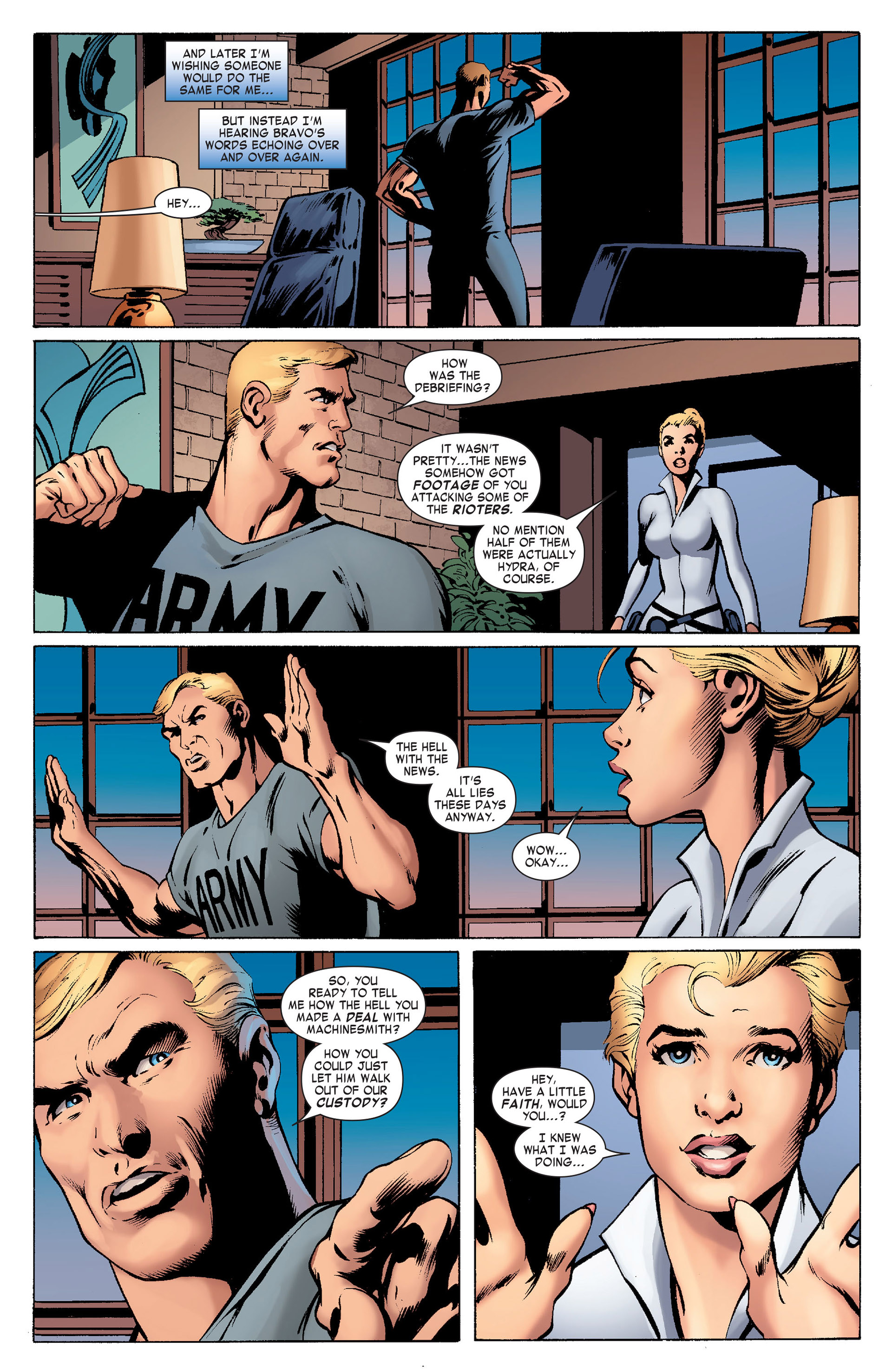 Captain America (2011) Issue #10 #10 - English 21
