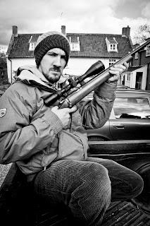 clay pigeon rifle