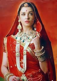 Actress Aishwarya Rai Rad in Rajputi Poshak