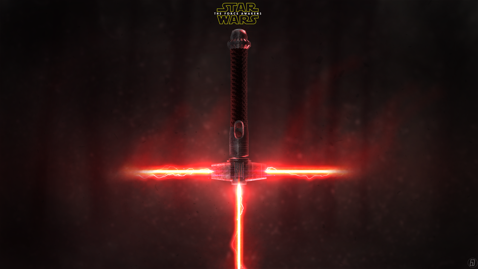 Star Wars the Force Awakens new lightsaber