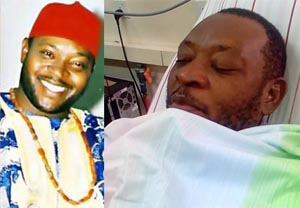 Critically ill Nollywood actor, Prince James Uche needs N10m to live as he battles diabetes, hypertension