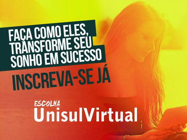 Escolha Unisul Virtual - Blumenau