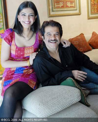 Anil Kapoor and daughter  Sonam Kapoor