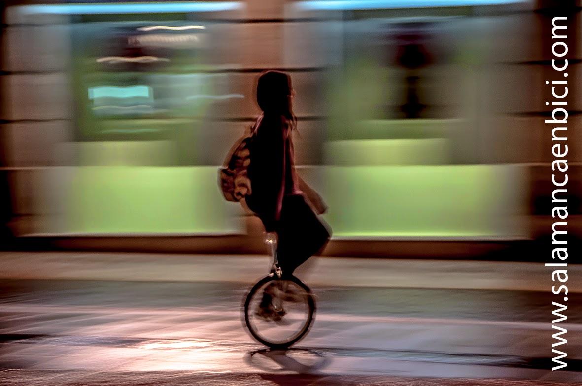 monociclo carril bici salamanca