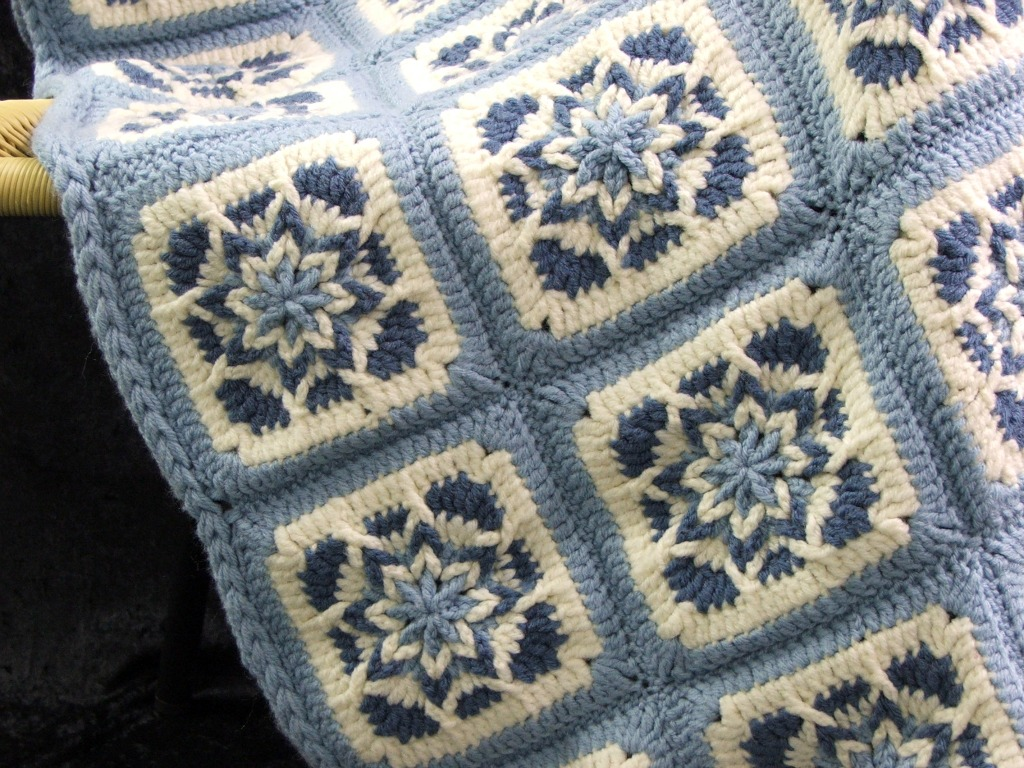 Free Amazing Star Crochet Pattern : QueenOfAllCrafts: Some of my favorites!