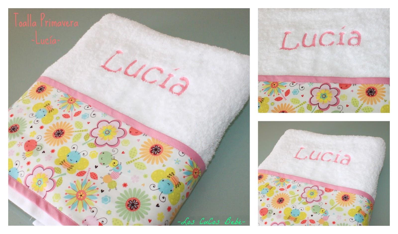 Los cucos beb toallas personalizadas - Toallas infantiles personalizadas ...