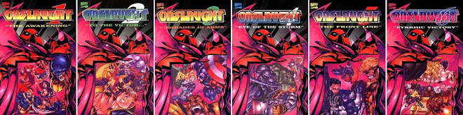 ONSLAUGHT TRADEPAPERBACK 1 ~ 6 COMPLETE SET. SMS ME AT 9616 9144 FOR ANY ENQUIRIES.