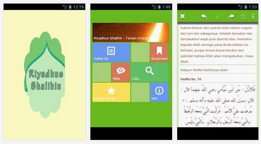 Kumpulan Hadist Kitab Riyadhus Shalihin Lengkap untuk Aplikasi Android Terbaik Gratis