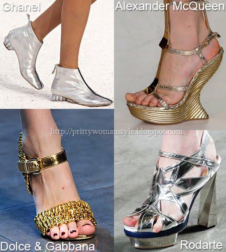 метални обувки Пролет/Лято 2012