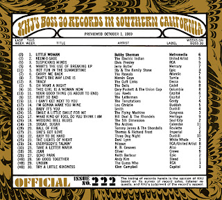 KHJ Boss 30 No. 222 - October 1, 1969