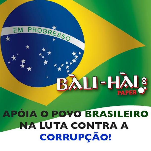 Nós apoiamos um Brasil mais justo para todos! E você?