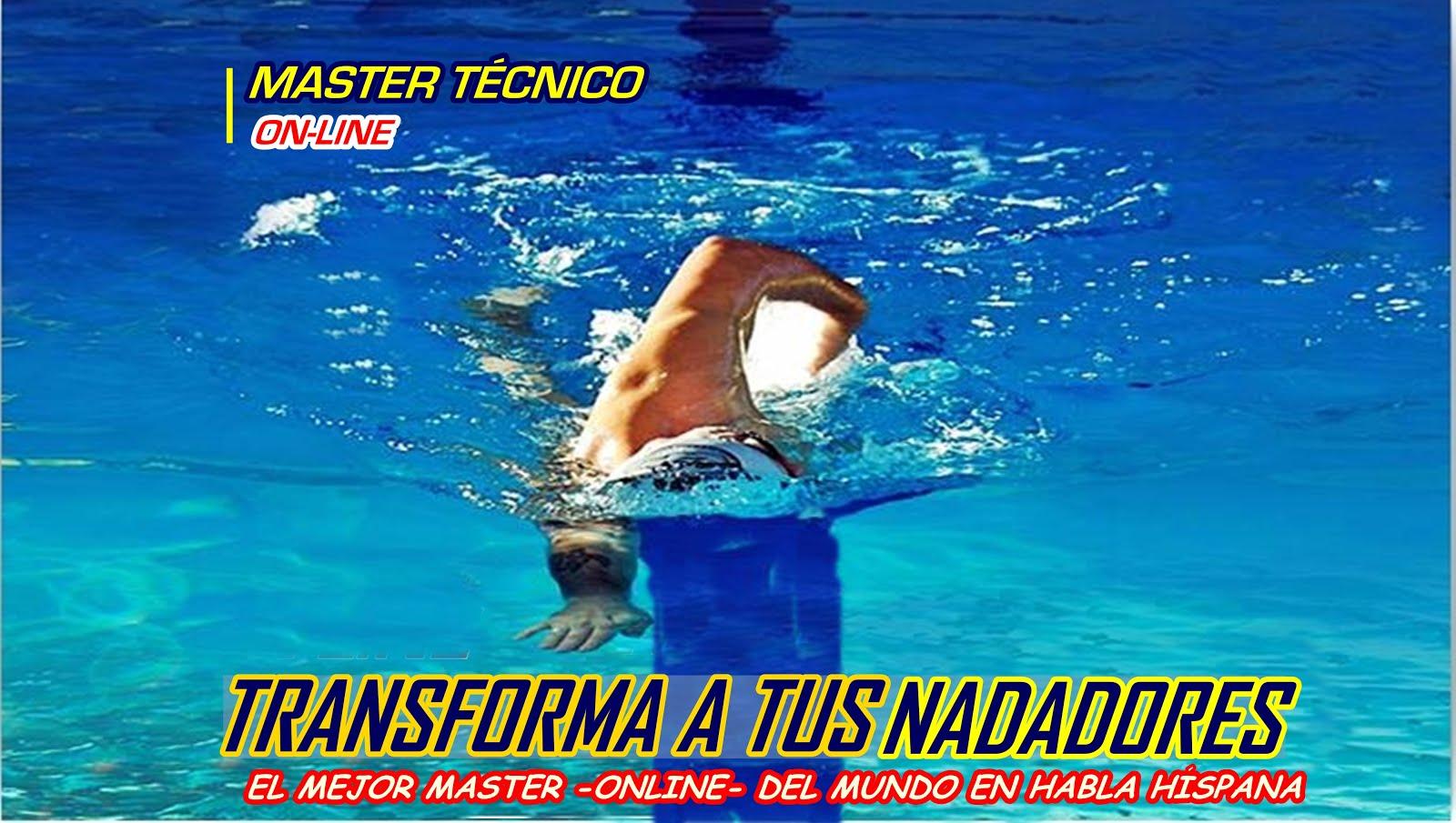 Transforma el estilo de tus nadadores