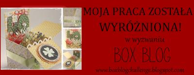 Wyróżnienie w Box Blog