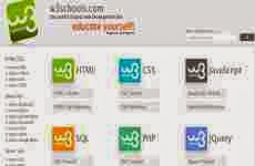 W3Schools: recursos para aprender HTML, CSS, Javascript, PHP, SQL, y JQuery