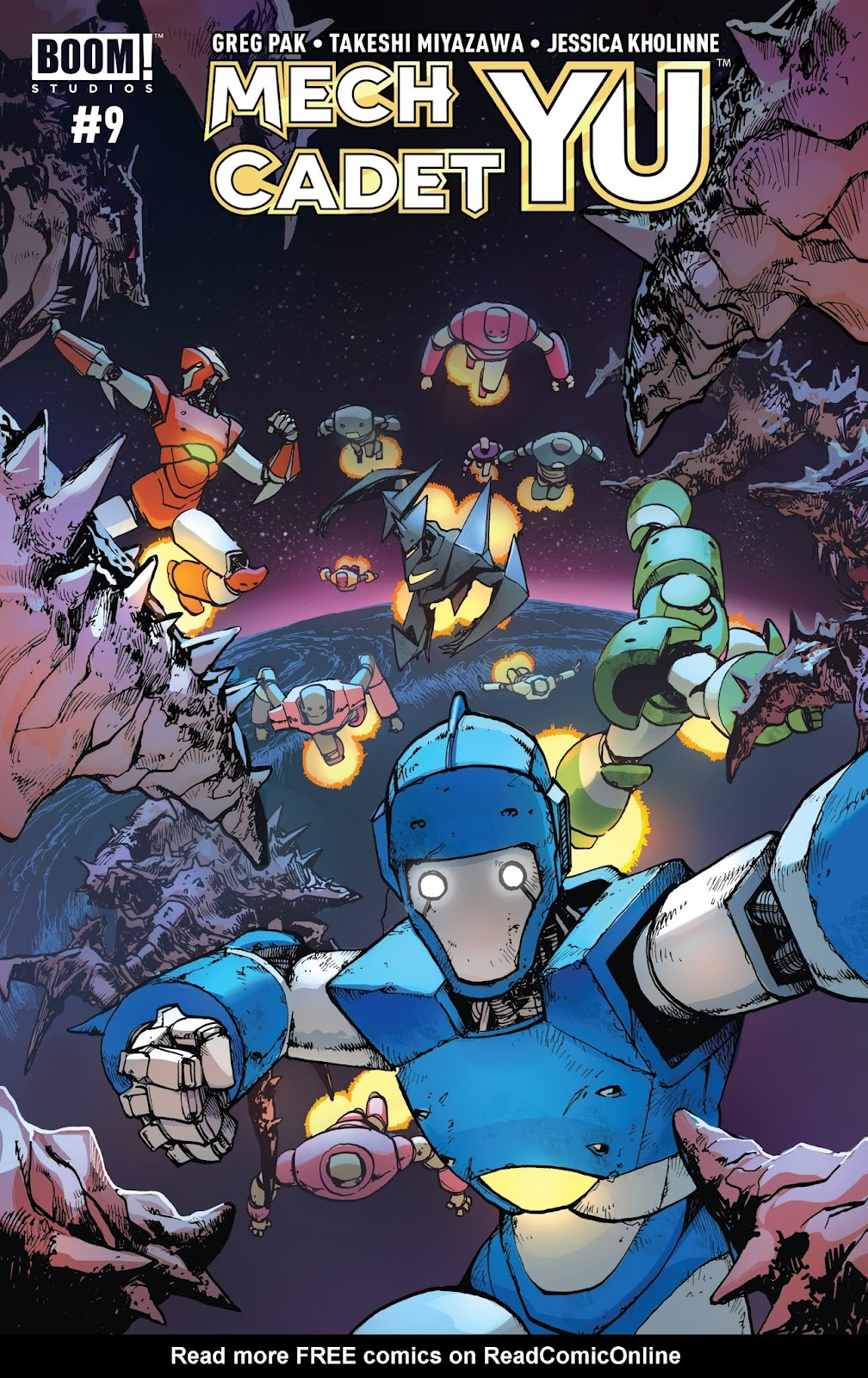 Mech Cadet Yu issue 9 - Page 1
